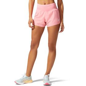 asics Road Shorts 3,5'' Femme, rose